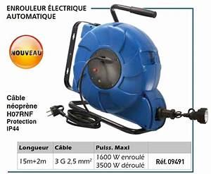 Enrouleur Electrique Automatique : enrouleur lectrique automatique de 15 m tres 220 volts ~ Edinachiropracticcenter.com Idées de Décoration