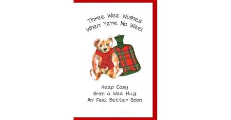 scottish card hot water bottle wwgw cards