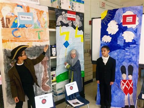 troy students  shorewood hold living wax museum