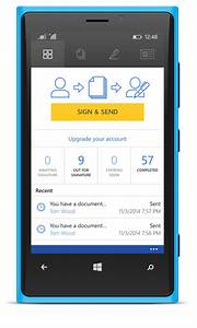 docusign for windows phone docusign With sign documents on your phone