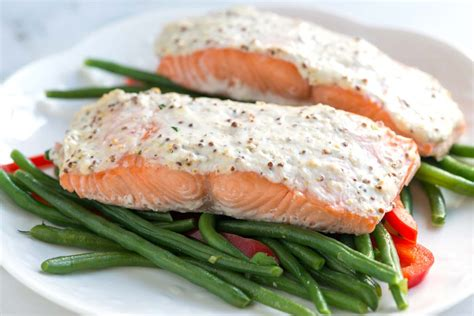 bake salmon easy sour cream baked salmon recipe