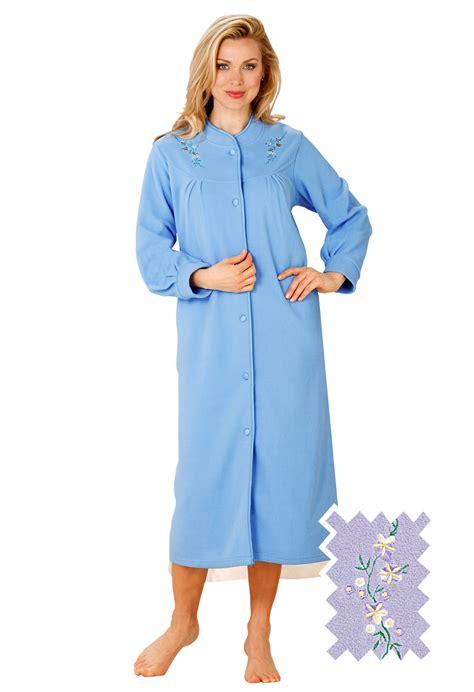 robe de chambre polaire femme grande taille robe de chambre bleu bonheur