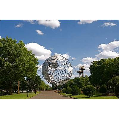 NYC ♥ NYC: The Unisphere of Flushing Meadows - Corona Park