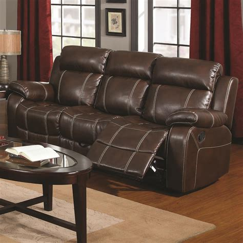 Coaster Loveseat by Coaster Myleene Motion Sofa W Pillow Arms Value City