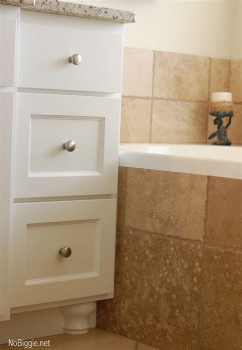 Master bathroom redo (before and after pics!)