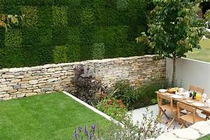 Décorer Un Mur Extérieur : dise o de jardines peque os y modernos 50 ideas ~ Dailycaller-alerts.com Idées de Décoration