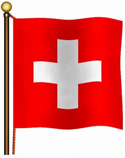 Svizzera Bandiera Bandiere Svizzere Immagini Animata
