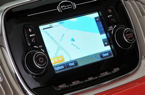 Fiat 500 Navigation System