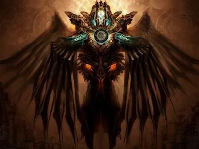 Creature Fantasy Wallpapers Angel Dark Fallen Demon