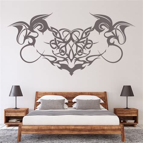 gothic print embellishment decorative patterns wall