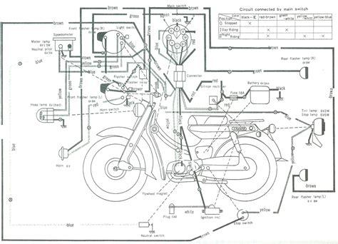 Yamaha Motorcycle Wiring Schematics Diagram