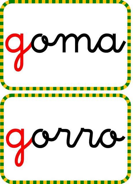 Cartas Con La Letra G