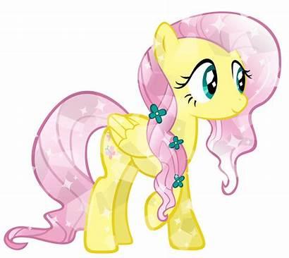 Fluttershy Pony Crystal Ponies Mlp Scooby Doo