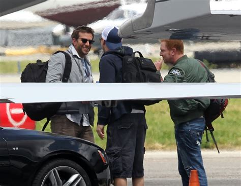 Bradley Cooper And Leonardo Dicaprio Pictures En Route To