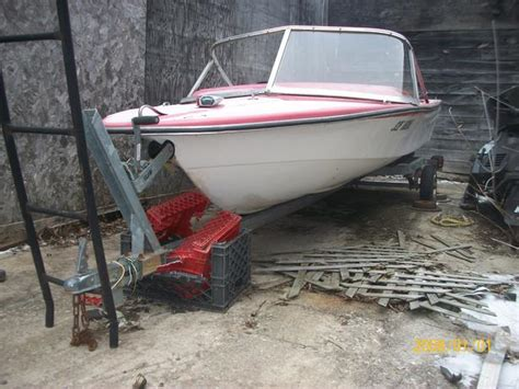 Boat Trailer Ottawa by 16 Foot Galvinzed Boat Trailer And Free Boat Outside