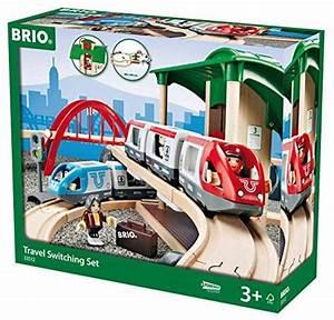 Brio Eisenbahn Schienen : brio 33512 gro es bahn reisezug set brio holzbahn eisenbahn co pinterest spielzeug ~ Orissabook.com Haus und Dekorationen