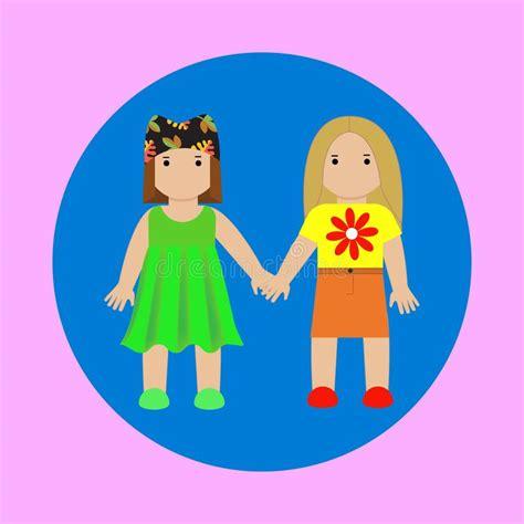 geschenkideen für zwillinge gl 252 ckliche familie mit zwei kindern vektor abbildung