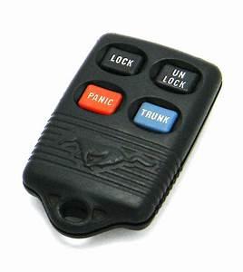 1994-1998 Ford Mustang 4-Button Key Fob Remote (GQ43VT4T, F5DZ-15K601-B) - Used