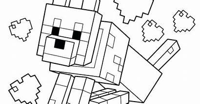 Minecraft Coloring Mewarnai Gambar Fun Populer Kumpulan