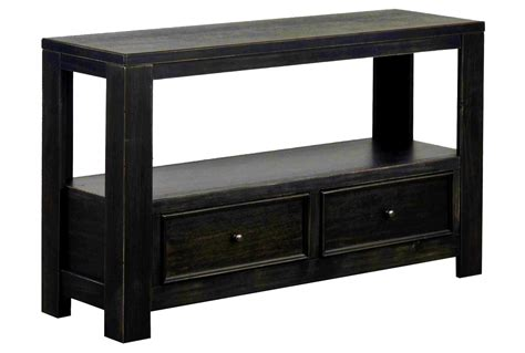 Black Sofa Table With Storage Tips To Console Table With