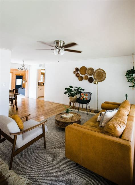midwest home   earthy modern abode living room