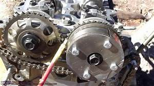 How To Assemble Engine Vvt-i Toyota Part 30  Timing Chain Setup And Installation