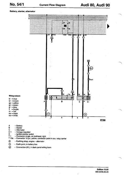 audi a4 starter motor wiring diagram gallery wiring
