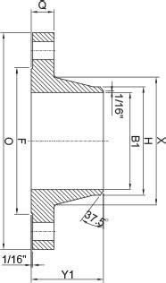 Welding Neck Flange (Type 11 B) - Catalog - Borşen
