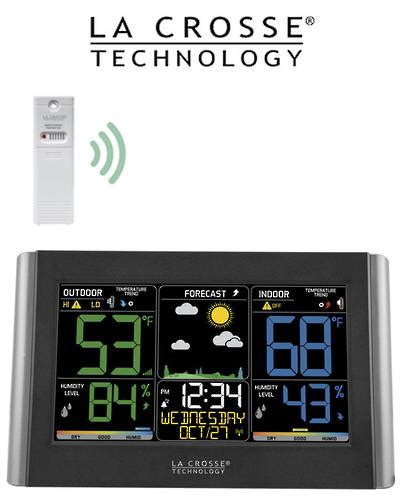 wireless color weather station c85845 wireless color weather station lacrosse australia