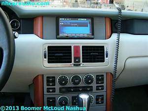 Service Manual  2002 Land Rover Range Rover Radio Replacement