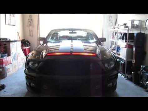 Mustang Knight Rider Light Led Scanner Version Youtube