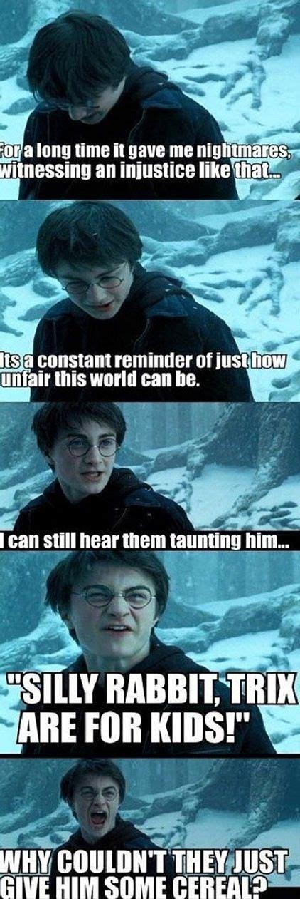 Harry Potter Memes Funny - harry potter meme funny harry potter joke trix are for kids funnyyyy pinterest