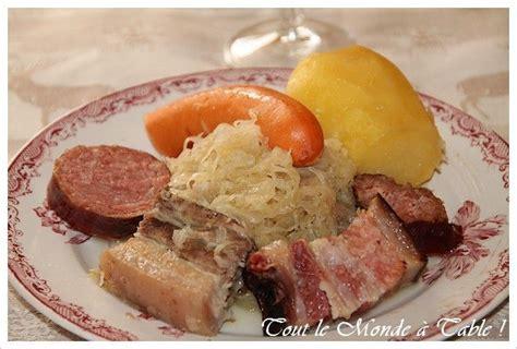 recettes cuisine alsacienne traditionnelle choucroute alsacienne traditionnelle recette ptitchef