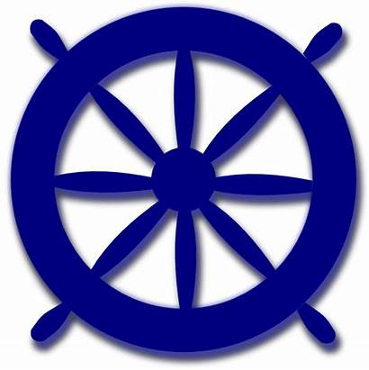 Wheel Anchor Clipart Ships Clip Nautical Steering