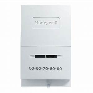 Honeywell Ct50k1002 Standard Heat Only Manual Thermostat