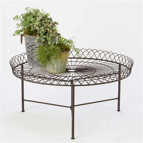 wrought iron coffee table contemporary outdoor coffee