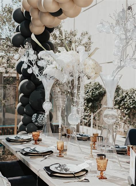 New Years Eve Wedding Inspired by The Great Gatsby New