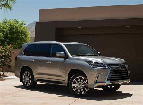 2019 Lexus Suv by New 2018 2019 Lexus Lx 570 Iconic Suv Restyling
