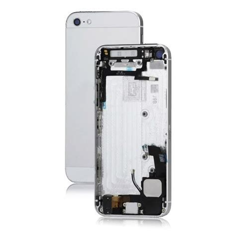 iphone 5 housing metal iphone 5 back cover housing assembly with middle
