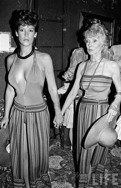 1970s Jamie Lee Curtis And Her Mother Jane Leigh At