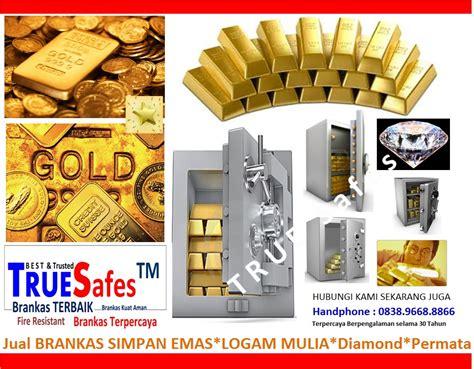 brankas uang emas lm dokumen surat penting  kantor