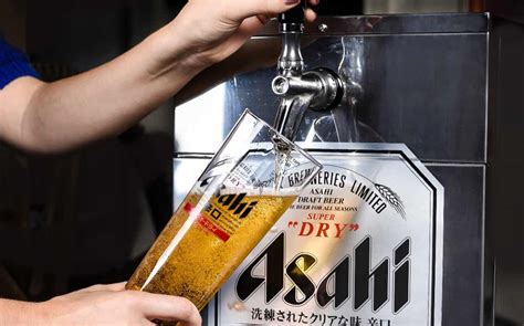 asahi brings bar top beer dispenser  uk foodbev media