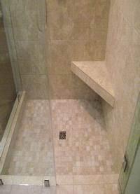 great triangle corner shower Corner shelf for shaving legs built with tile | master bath | Pinterest | Corner shelf, Corner ...