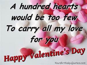 Ideas for Valentines Wishes - Part 3 | YourBirthdayQuotes.com