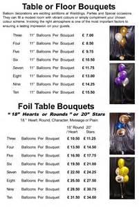 wedding invitations cost balloon decor price list matthew lewis displays