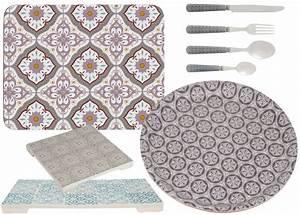 Set De Table Carreaux Ciment : inspirants les carreaux de ciment joli place ~ Melissatoandfro.com Idées de Décoration