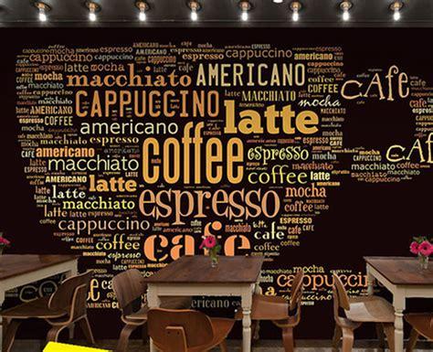 desain dinding cafe kekinian  gambar  keren