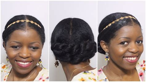 Elegant Twisted Bun Updo Perfect For Formal/wedding