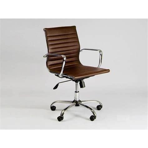de chaise de bureau chaise basse de bureau design marron achat vente