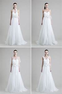 do the convertible wedding dress dance onewed With convertible wedding dresses